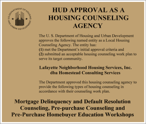 Homestead-Consulting-Services-CS-Keeping-Families-In-Homes-Nonprofit-Housing-Counseling-Education-Lafayette-Indiana-HUD-Approved